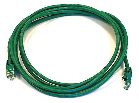 Ethernet Cable, Cat 5e, Green, 10 ft.