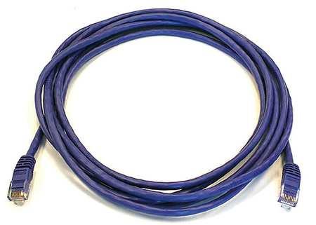 Ethernet Cable, Cat 5e, Purple, 10 ft.