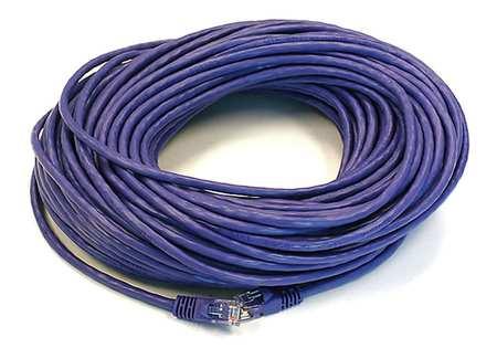 Ethernet Cable, Cat 5e, Purple, 100 ft.