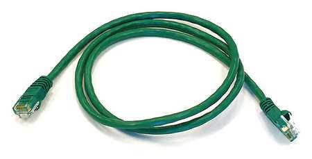 Ethernet Cable, Cat 6, Green, 3 ft.