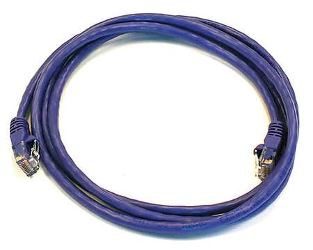Ethernet Cable, Cat 6, Purple, 5 ft.