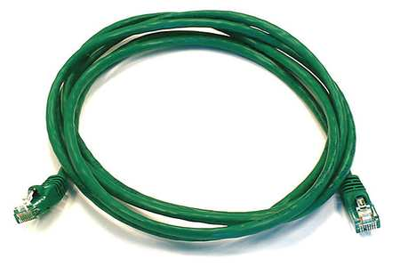 Ethernet Cable, Cat 6, Green, 7 ft.