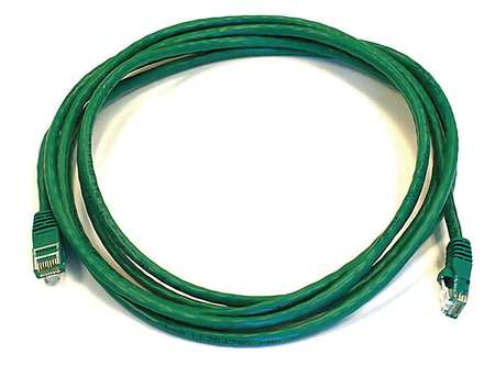Ethernet Cable, Cat 6, Green, 10 ft.