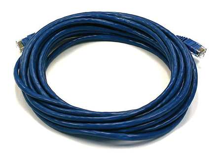 Ethernet Cable, Cat 6, Blue, 20 ft.