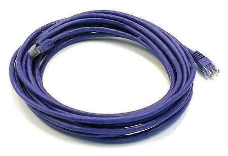Ethernet Cable, Cat 6, Purple, 20 ft.