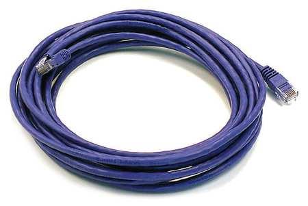 Ethernet Cable, Cat 5e, Purple, 20 ft.