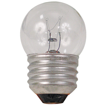 GE LIGHTING 15W,  S11 Incandescent Light Bulb