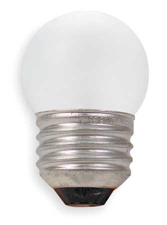 GE LIGHTING 8.0W,  S11 Incandescent Light Bulb