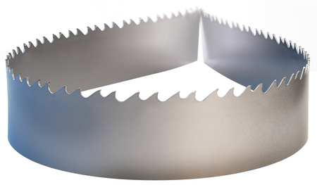 Band Saw Blade, Carbide, 1-1/4 In. W