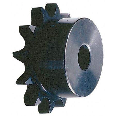 Sprocket, Plain, #40, OD 7.450 In