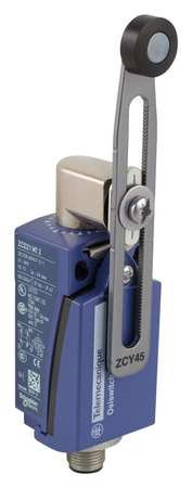 1NC/1NO Limit Switch Adjustable Roller Lever IP 67