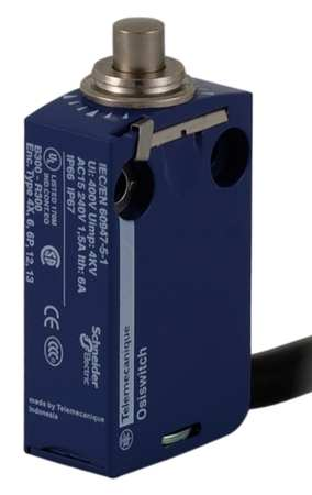 Miniature Limit Switch, 0.63 in. D