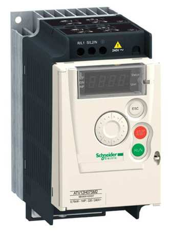 Variable Frequency Drive, 1/2 HP, 230VAC