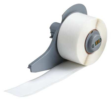 Label Cartridge, White, Nylon Cloth