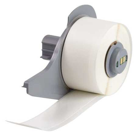 Label Cartridge, White, Vinyl Cloth