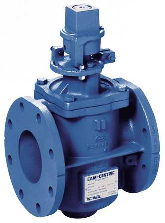 Plug Valve, 3 In, Nut Operated, CI