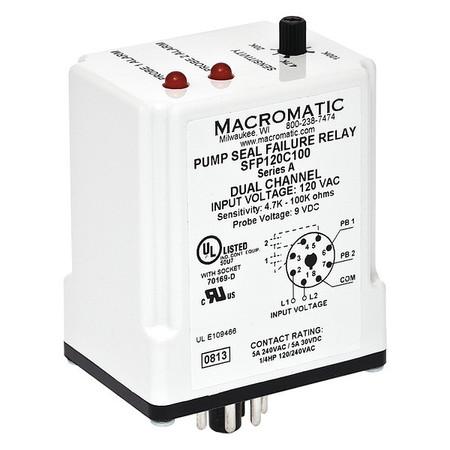 Pump Seal Failure Relay, 2-SPNO, 120VAC