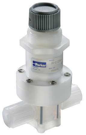 Pressure Regulator, 1/4 In, 0 to 30 psi