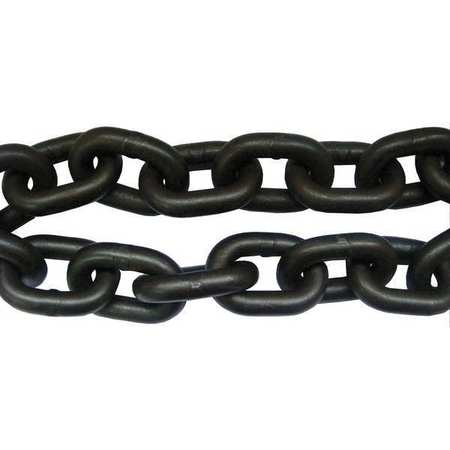 Chain, Grade 80, 3/8 Size, 30 ft., 7100 lb.