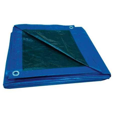 Tarp, Reversible, Polyethylene, 50x80Ft