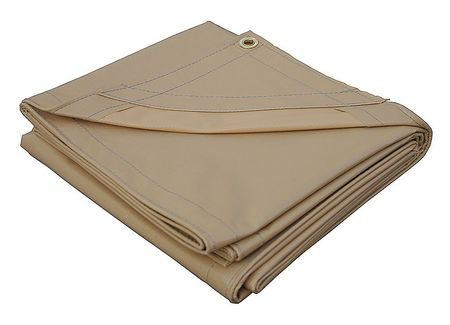 Tarp, Heavy Duty, Vinyl, 8x10Ft