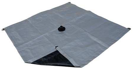 Tarp, Drainage, Polyethylene, 3x3Ft