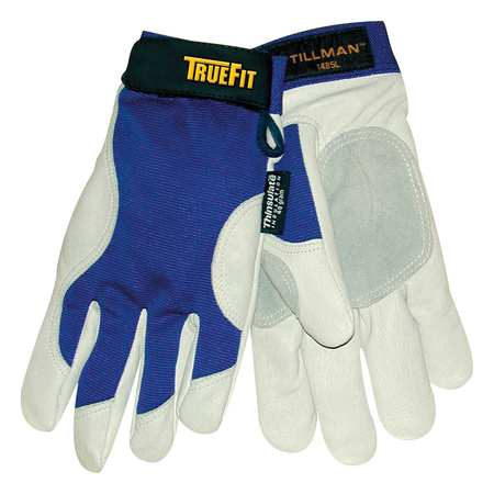 Cold Protection Gloves, M, Bl/Prl Gray, PR