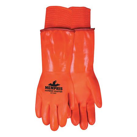 Cold Protection Gloves, L, HiVis Orange, PR