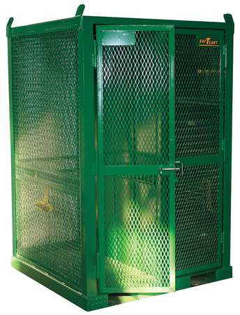Gas Cylinder Cabinet, 50x50, Capacity 16