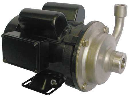 Pump,  Centrifugal,  SS,  1/3 HP,  1 PH