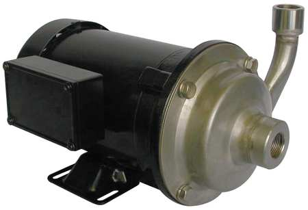 Pump,  Centrifugal,  SS,  1/2 HP,  3 PH
