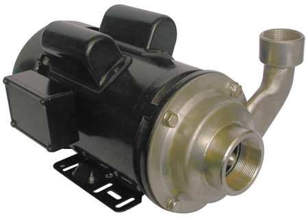 Pump,  Centrifugal,  SS,  1-1/2 HP,  1 PH