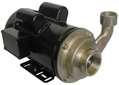Pump,  Centrifugal,  SS,  3 HP,  1 PH