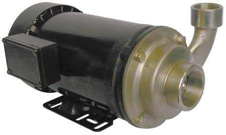 Pump,  Centrifugal,  SS,  3 HP,  3 PH