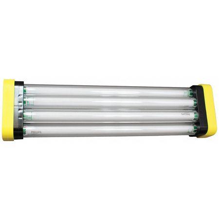 5200 Lumens,  Fluorescent Temporary Job Site Light
