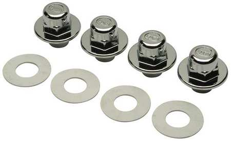 Cap Nuts and Washers, For 1WXD4, 1WXD5 PK4