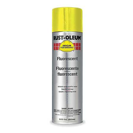 Rust Preventative Spray Paint, Ylw, 14 oz.