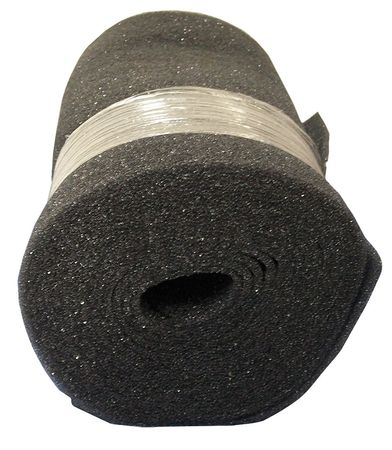"Filter Media Roll, 25 ft.Lx24Wx1/4""T"