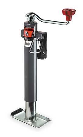 Trailer Jack Tubular Swivel, 2000 lb