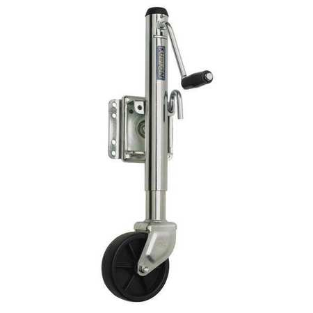 Trailer Jack Tubular Swivel, 1200 lb