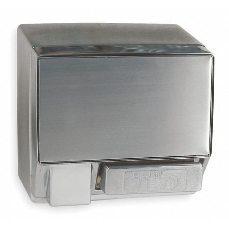 Hand Dryer,  Fixed, Cast Aluminum