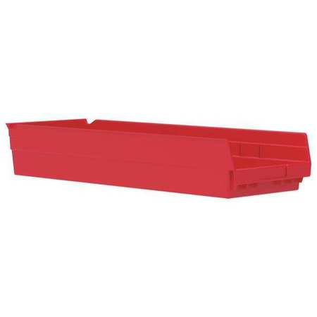 Shelf Bin,  23-5/8 In. L, 8-3/8 In. W, 4 In H