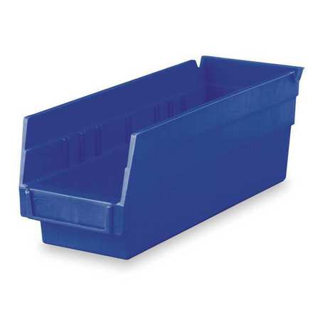 Shelf Bin,  11-5/8 In. L, 4-1/8 In. W, 4 In H