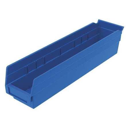 Shelf Bin,  17-7/8 In. L, 4-1/8 In. W, 4 In H