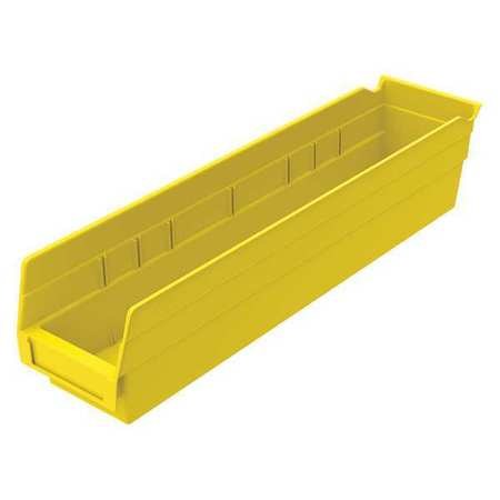 Plastic Shelf Bins - Yellow