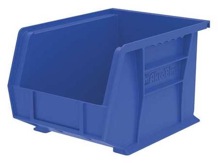 Hang/Stack Bin, 10-3/4 x 8-1/4 x 7, Blue