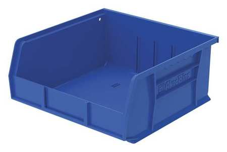 Hang/Stack Bin, 10-7/8 x 11 x 5,  Blue