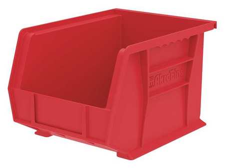 Hang/Stack Bin, 10-3/4 x 8-1/4 x 7, Red