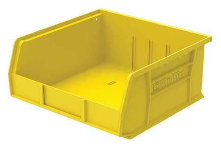 Hang/Stack Bin, 10-7/8 x 11 x 5,  Yellow