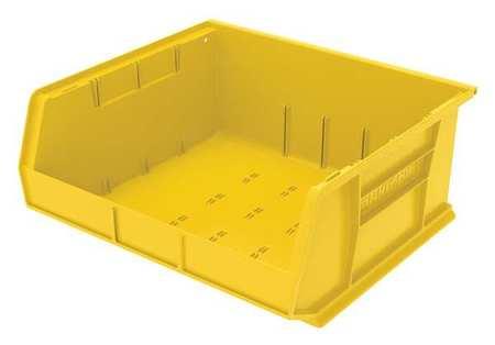 Hang/Stack Bin, 7x16 1/2x14 3/4,  Yellow